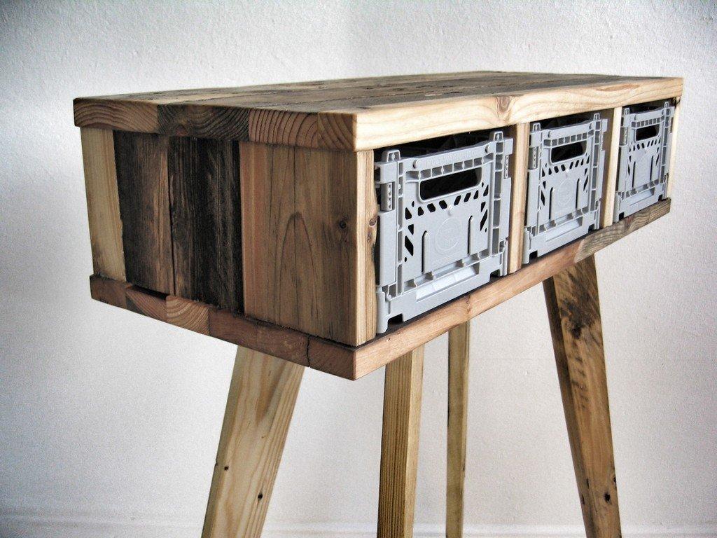 Reclaimed Wood Furniture By Sascha Akkermann - Reclaimed wood table nyc