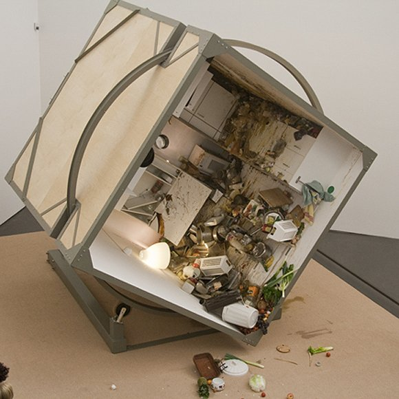 Food Art Rotating Kitchen By Zeger Reyers