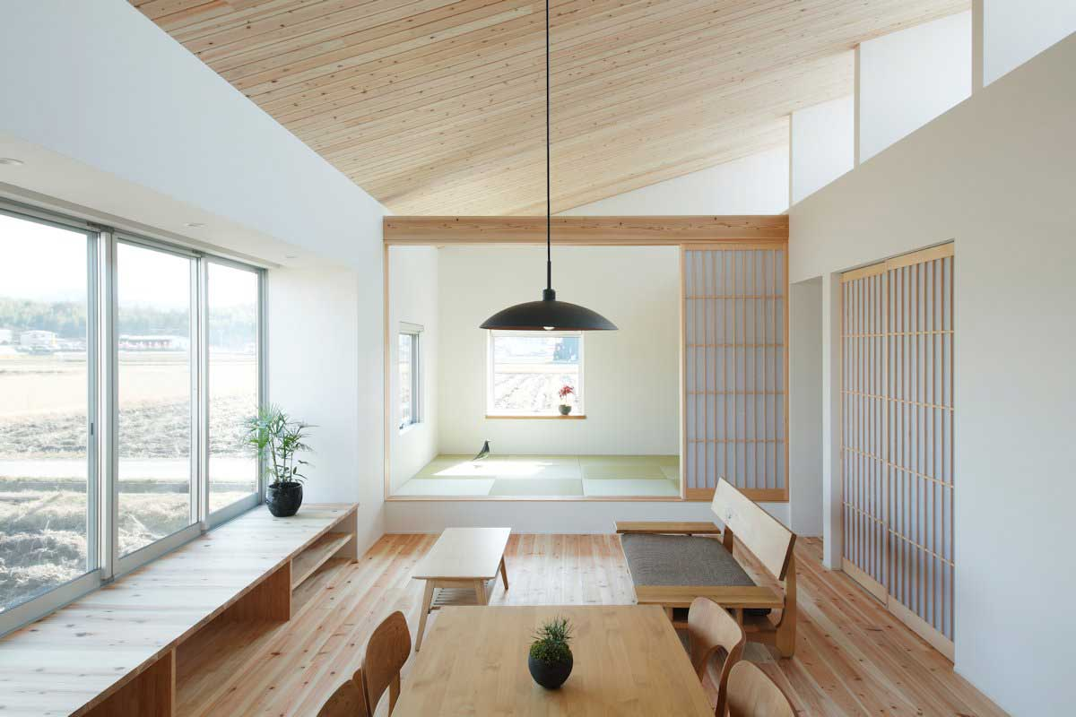 Japanese Office Design Small House In Ritto Japan By Alts Design Office