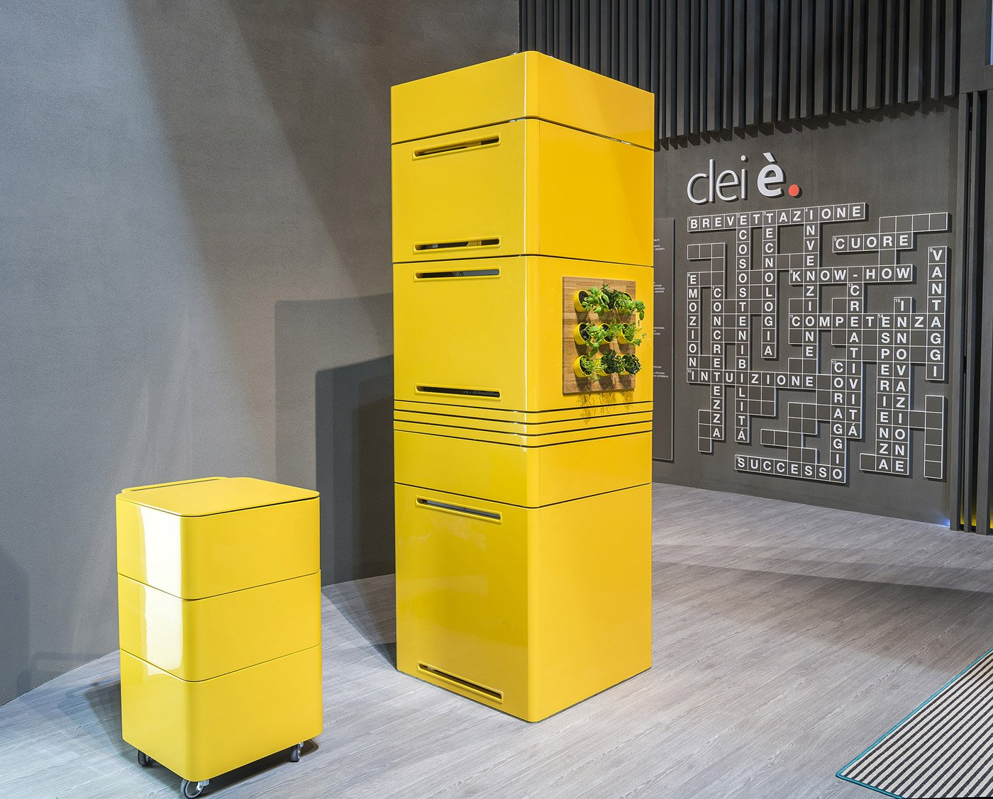 Gentil E Cooking, Mini Modular Kitchen By Massimo Facchinetti