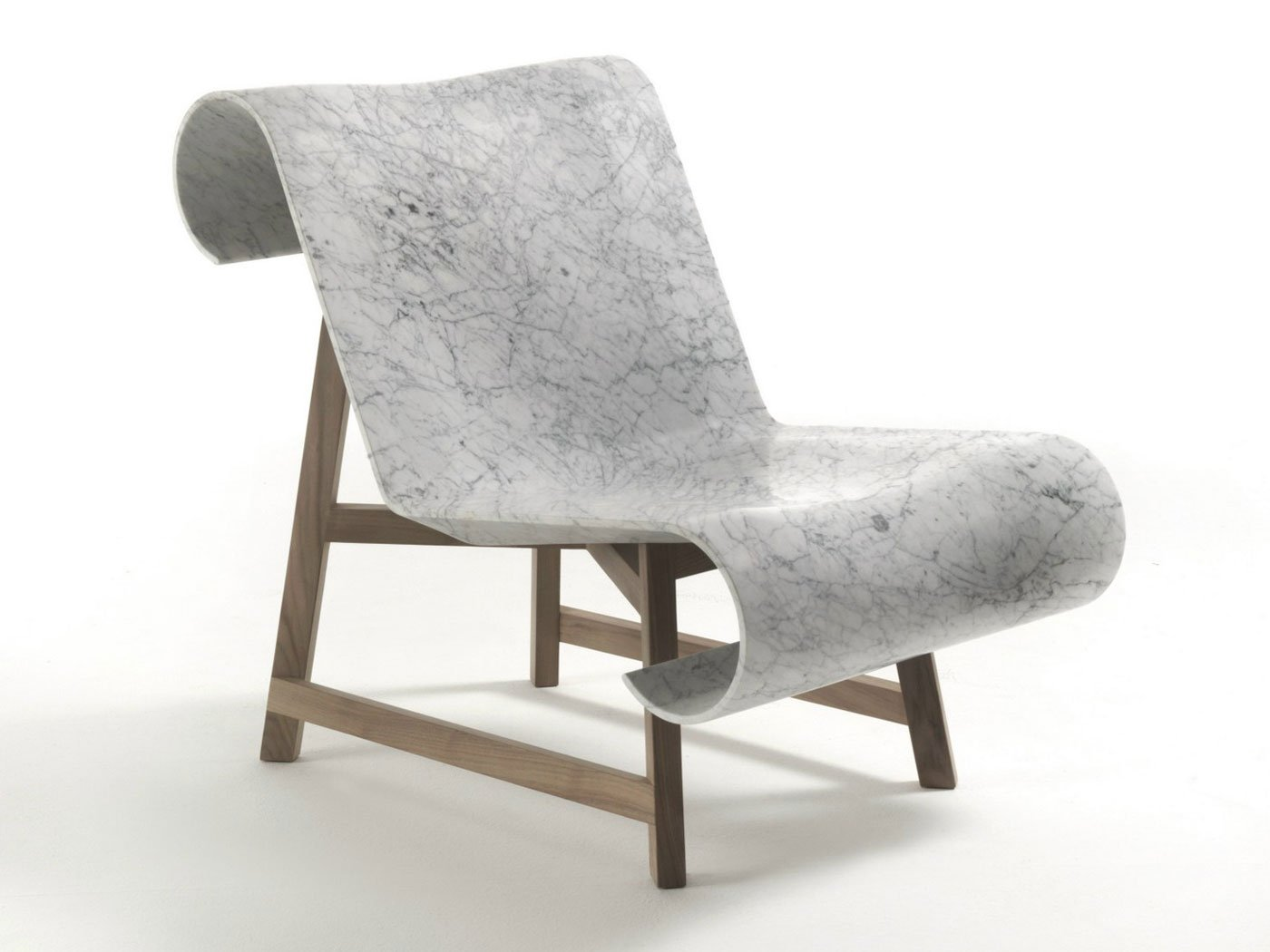 Posts  sc 1 st  Gessato & Modern Classic Chair Made of Marble and Wood