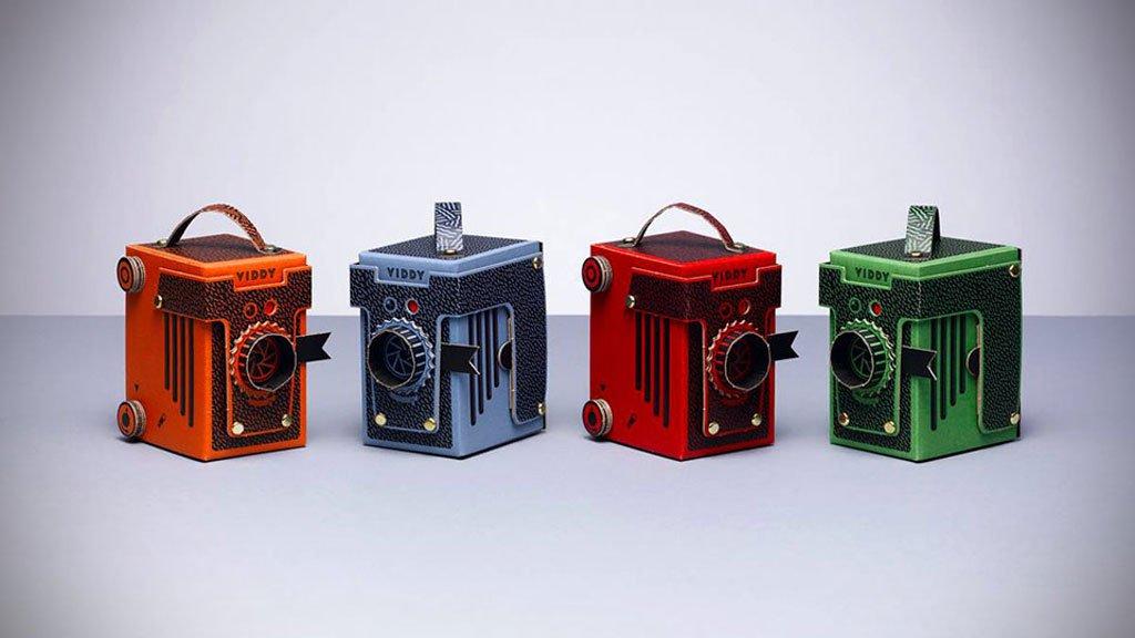 diy cardboard pinhole camera