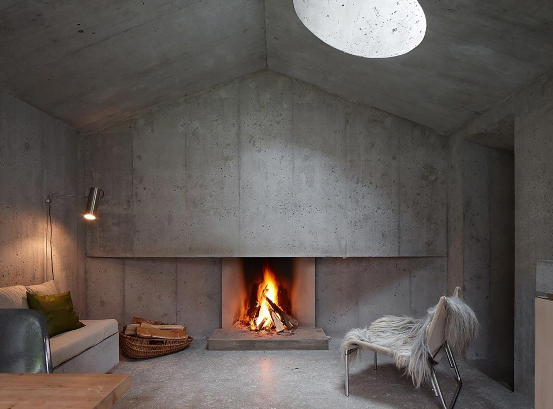 Concrete Cabin Concrete Shelter In The Image Of A Cabin