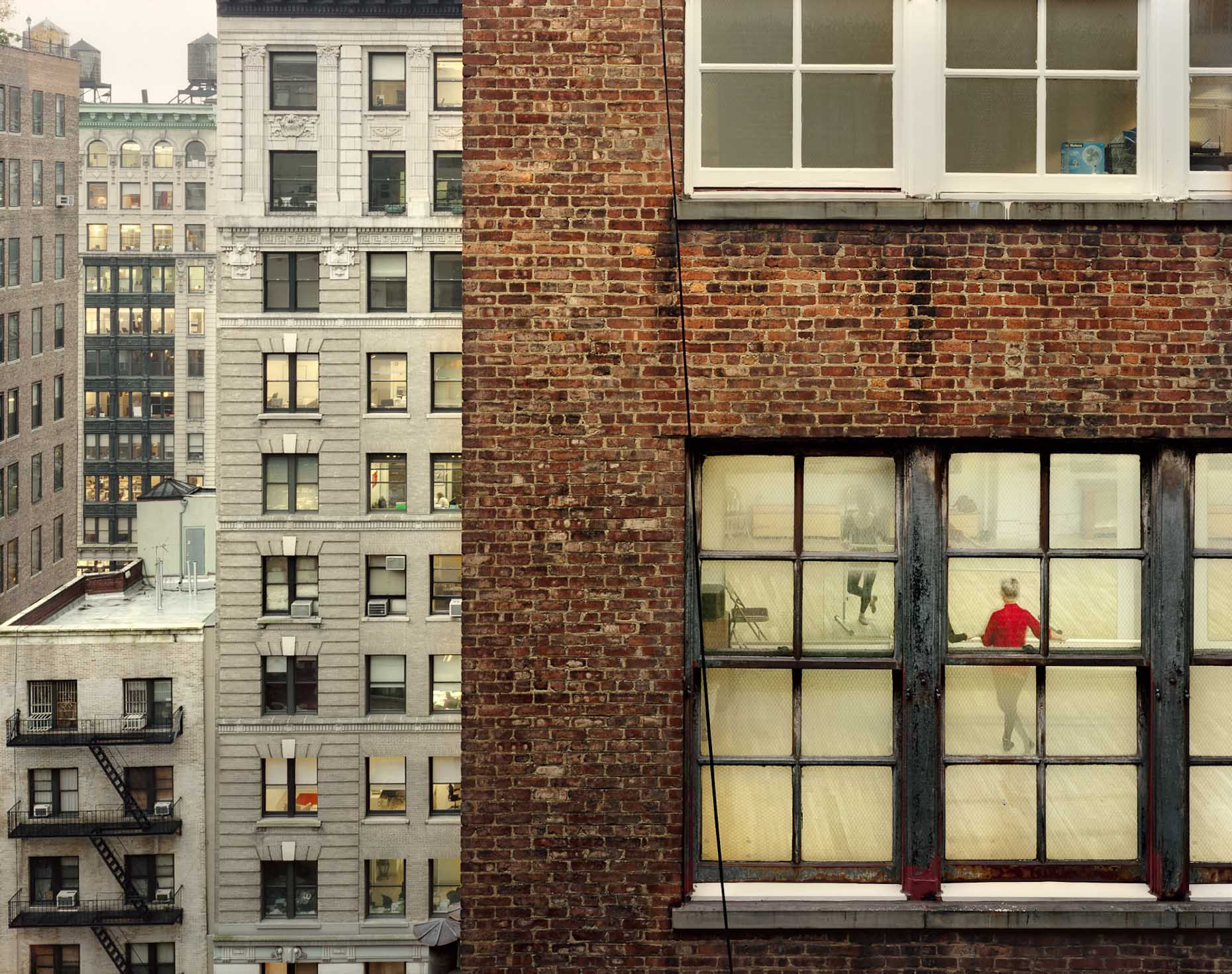 Out My Window, Chelsea, Dance Studio, 2009