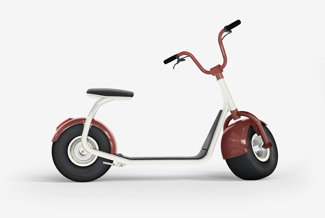 SCROOSER – The World's First Electric Scooter