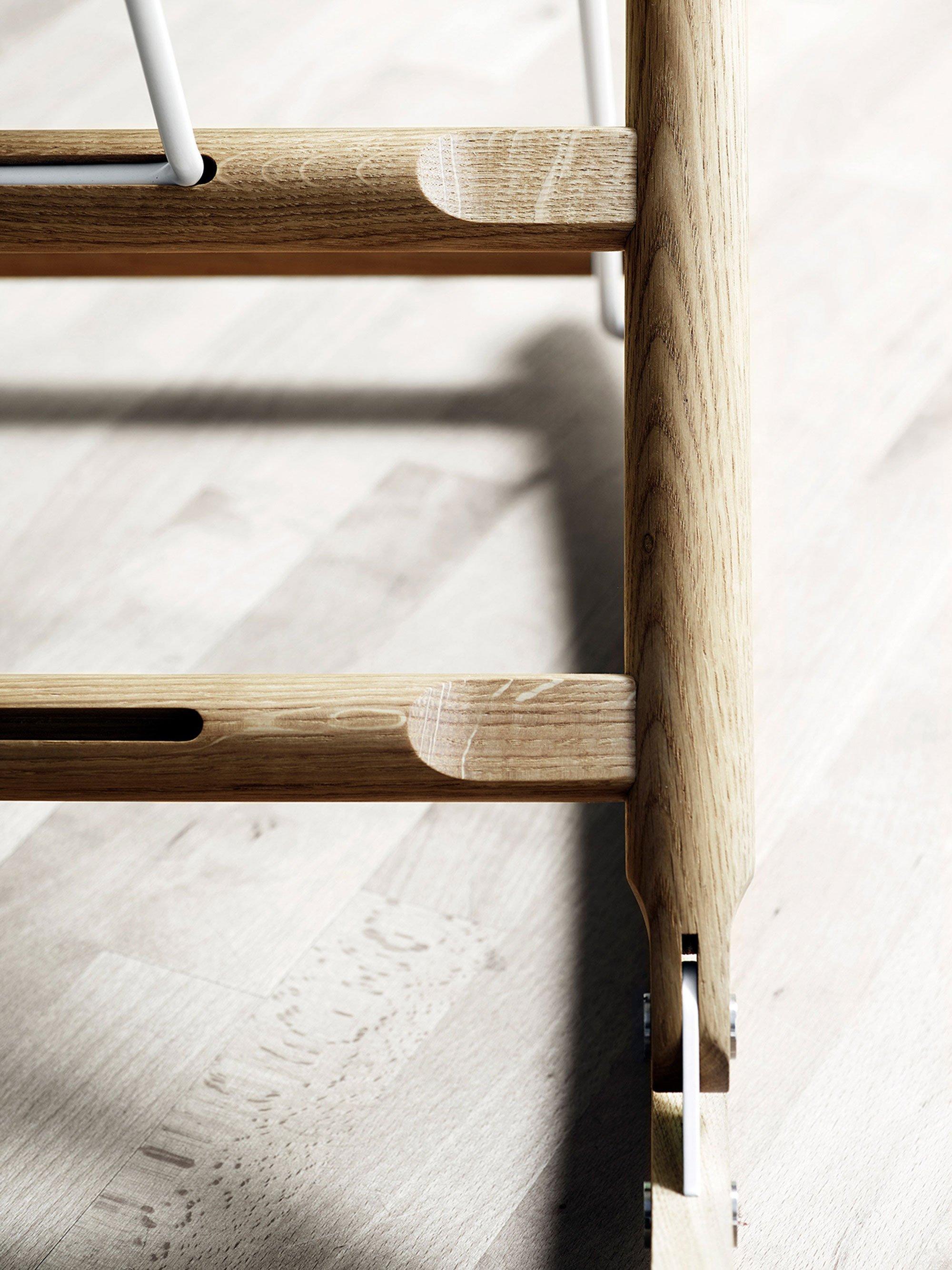 Rocking Nest Chair By Anker Bak For Carl Hansen & Son