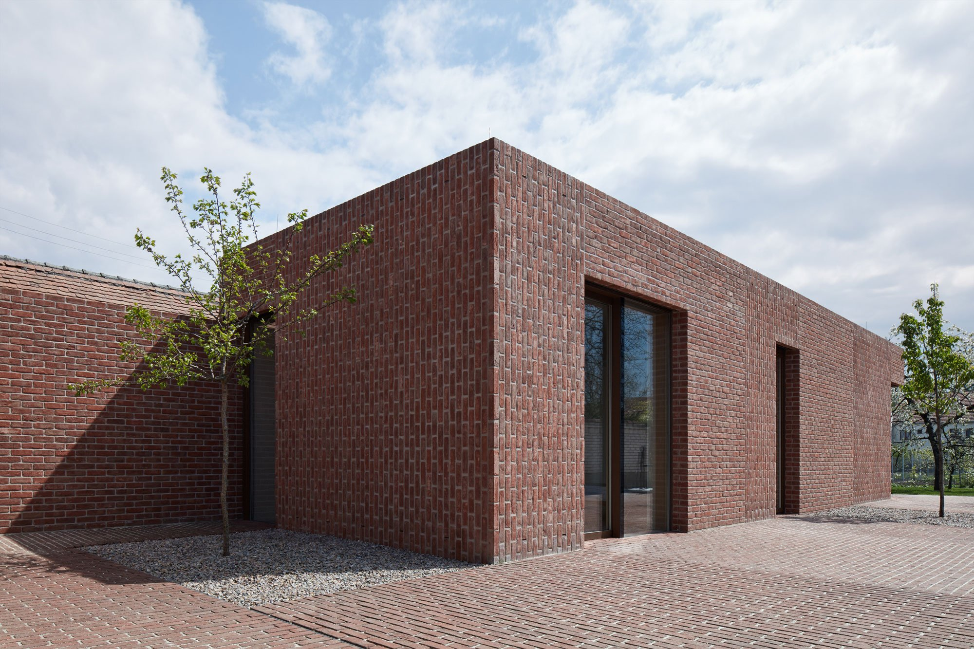 Brick House in Brick Garden on local movies, local storage, local market design, local pool, local heroes design, local art,