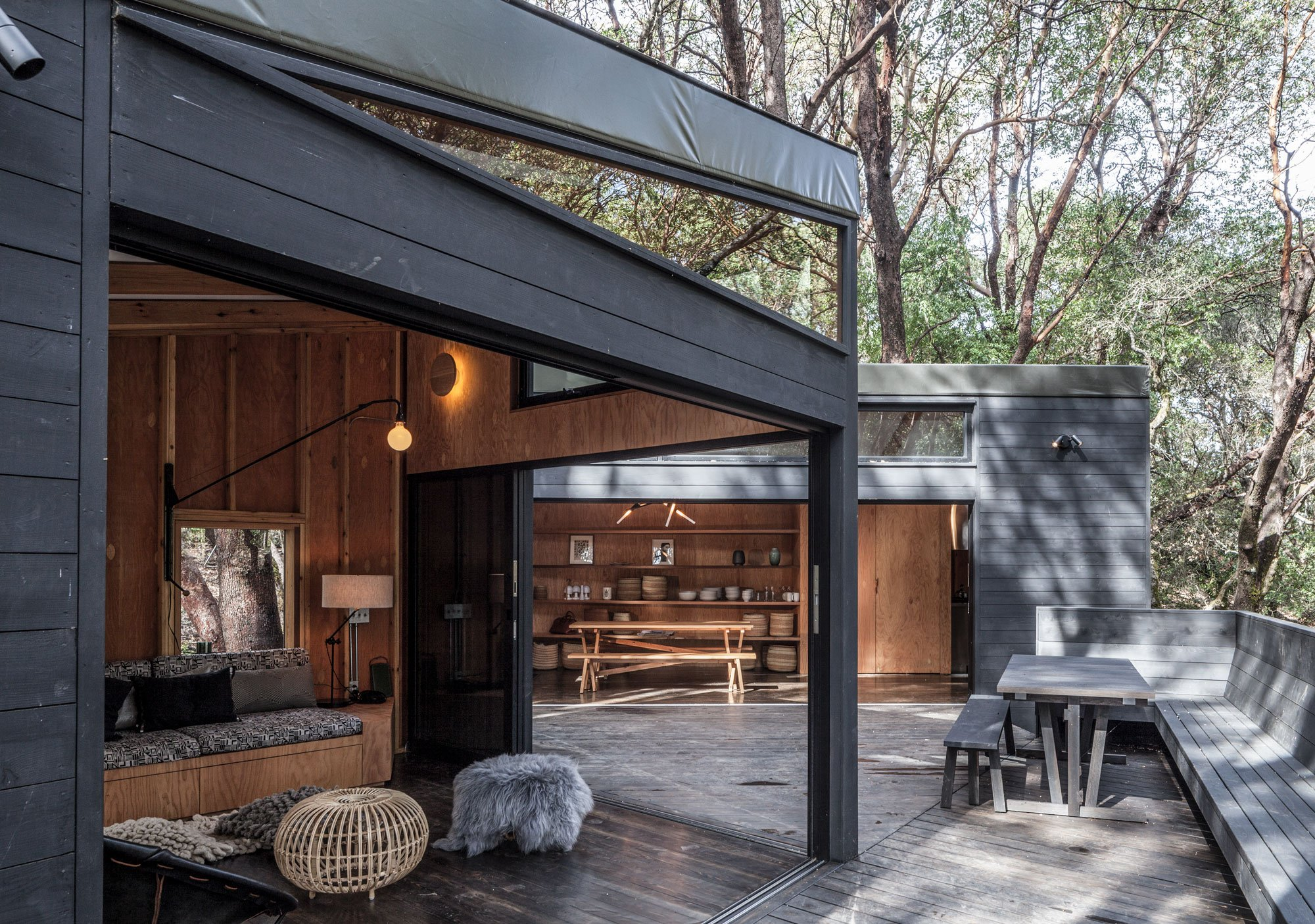Forest house by envelope a d for Forest house