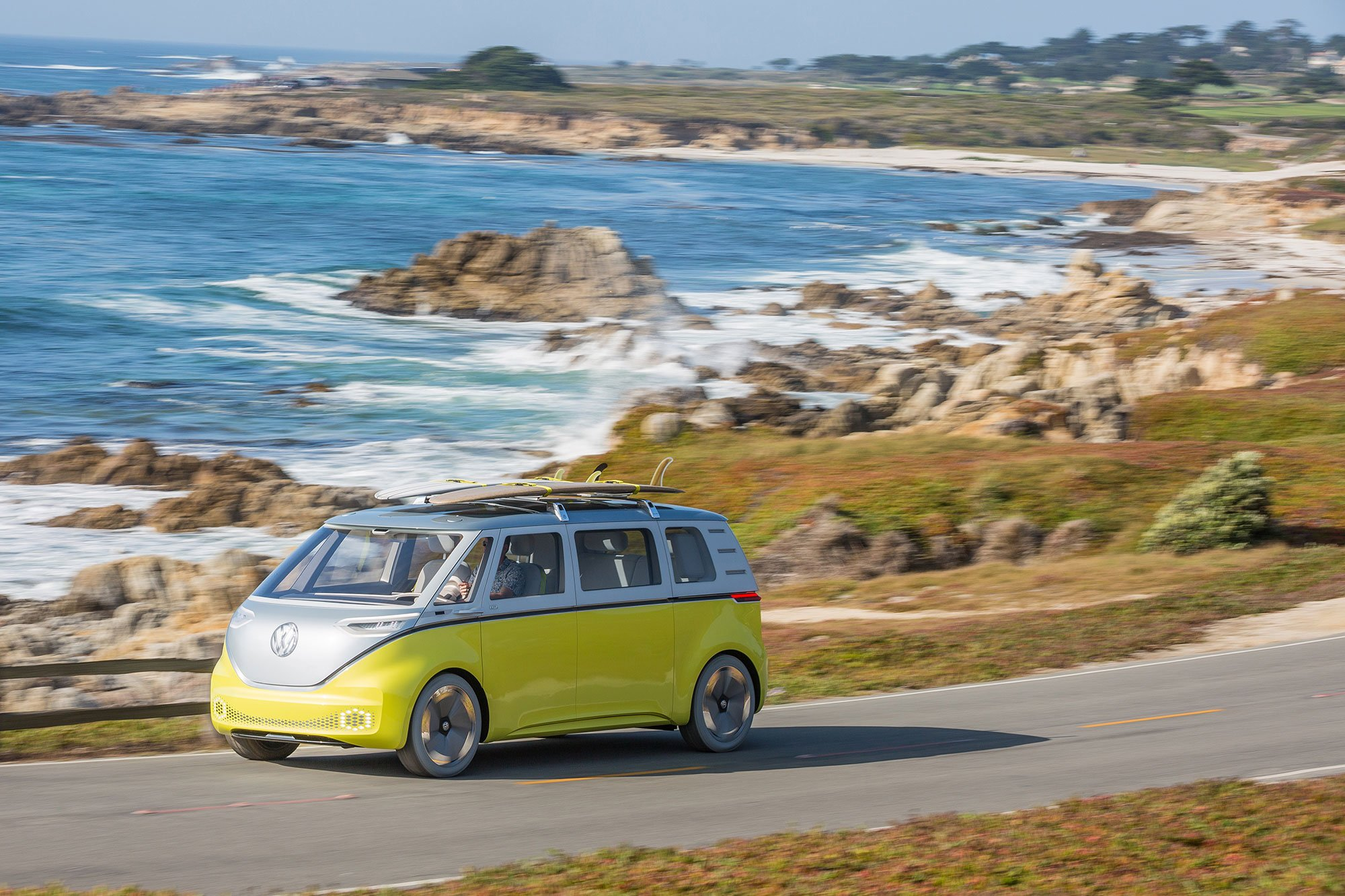 The Volkswagen Electric Van I D Buzz Set For A 2022 Launch
